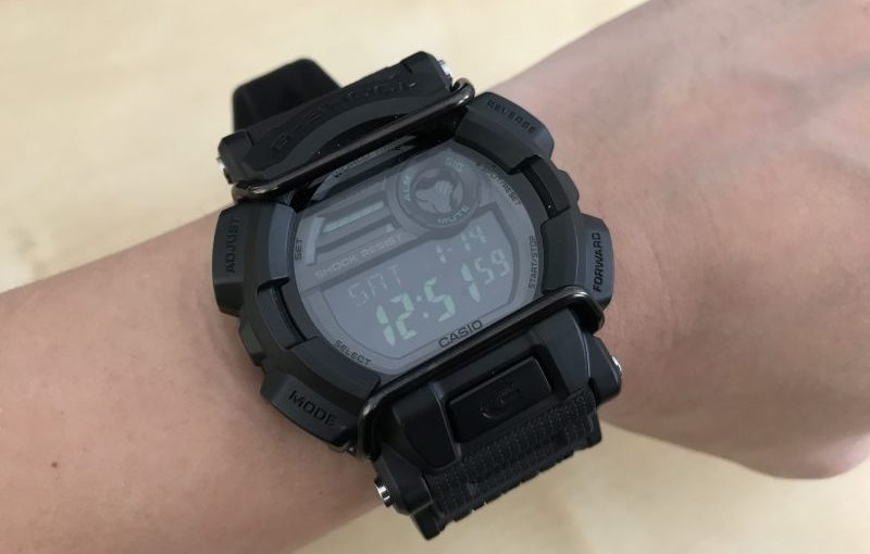 รีวิว Casio G-Shock GD-400MB (Military Black)